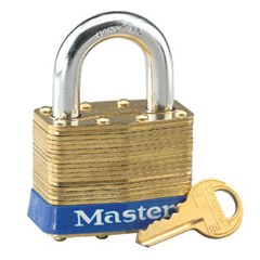 MST470-2KD - Master LockNo. 2 Laminated Brass Pin Tumbler Padlocks