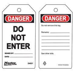 MLK470-S4001 - Master LockGuardian Extreme™ Safety Tags