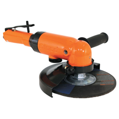 ORS473-1660AGL-45 - Cleco - 1660 Series Angle Grinder, 12,000 RPM, M14 X 2 Spindle Thread, 5 Dia.