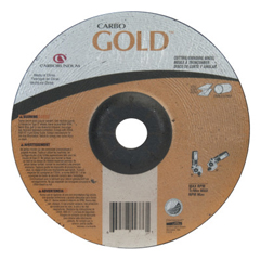 ORS481-05539504710 - CarborundumDepressed Center Wheel, 4 1/2 In Dia, 1/8 In Thick, 24 Grit Aluminum Oxide