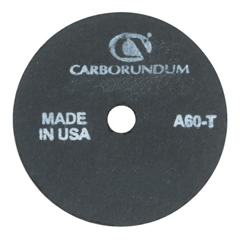 ORS481-05539509260 - CarborundumCut-Off Wheel, 3 In Dia, 1/8 In Thick, 3/8 In Arbor, 36 Grit Aluminum Oxide