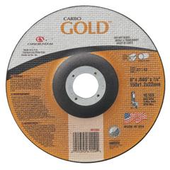 ORS481-05539561554 - CarborundumCarbo™ Goldcut Reinforced Aluminum Oxide Abrasives, Type 27, 6 X .045 X 7/8, 30 Grit