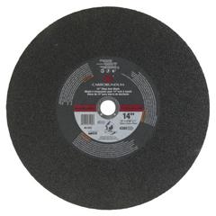 ORS481-05539561582 - CarborundumFlaring Cup Wheel, 5/8 In Arbor, Alumina Oxide, Hardness Grade P