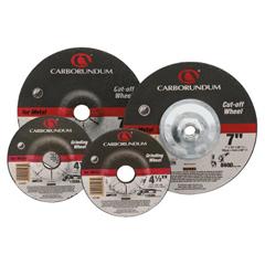 ORS481-05539561565 - CarborundumDepressed Center Wheel, 4 1/2 In Dia, 1/8 In Thick, 7/8 In Arbor, Aluminum Oxide