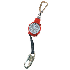 FND493-FL11-3-Z7-11FT - HoneywellMinilite Personal Fall Limiter, 11Ft, Twistlock Carabinr/Swivl Shackle,Ansi Z359