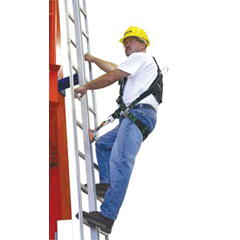 MLS493-GG0020 - Miller by SperianGlideLoc® Vertical Height Access Ladder System Kits