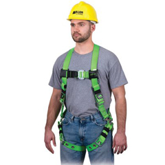 493-RPC-TB-BD-UGN - Miller by SperianRevolution™ Vinyl-Coated Harnesses