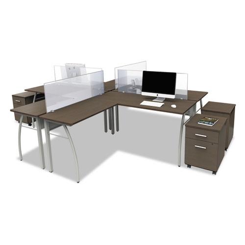 Bettymills Linea Italia 174 Trento Line L Shaped Desk