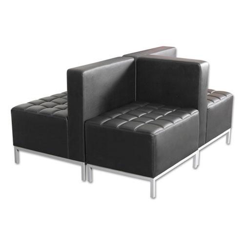 Sofa Black ALEQB8116 Armless Sectional