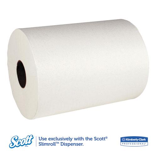 6 Rolls KCC 12388 Scott 12388 Slimroll Hard Roll Paper Towels