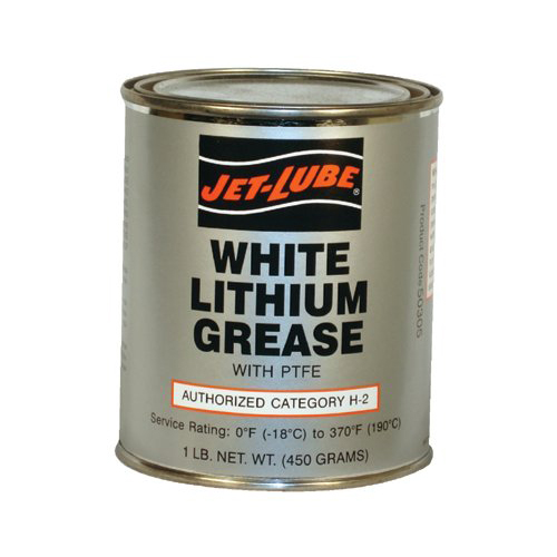 White Lithium Grease w/PTFE