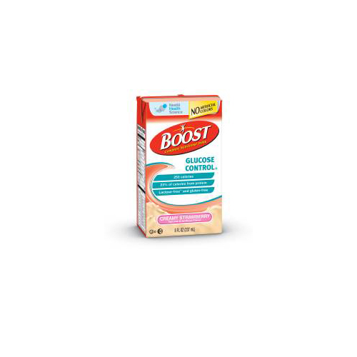 Nestle Boost Glucose Control Nutritional Drink Strawberry: BettyMills: Oral Supplement BOOST® Glucose Control