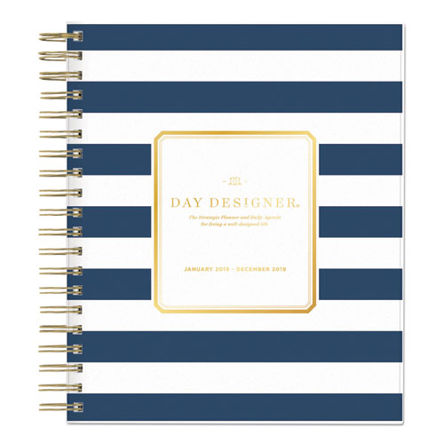 graphic about Day Designer for Blue Sky titled Working day Designer Everyday/Month to month Planner, 10 x 8, Army/White, 2020