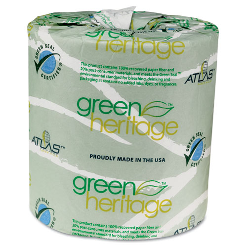 Bettymills green heritage bathroom tissue atlas paper mills apm235green Boardwalk 6145 bathroom tissue