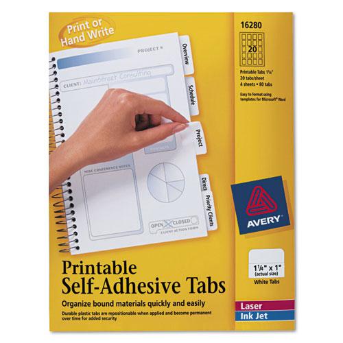 avery pendaflex printable tab inserts bettymills averyr printable