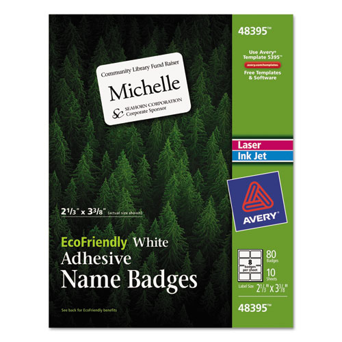 avery template 5147 - bettymills avery ecofriendly name badges avery 48395