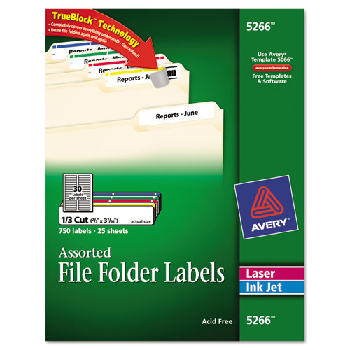 bettymills avery permanent file folder labels with trueblock technology avery 5266. Black Bedroom Furniture Sets. Home Design Ideas