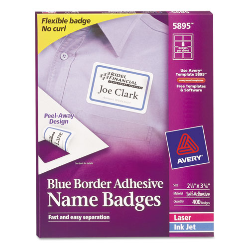 avery template 5147 - bettymills avery blue border removable adhesive name