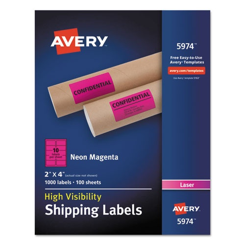 Bettymills avery neon shipping label avery 7278205974 for Pres a ply templates