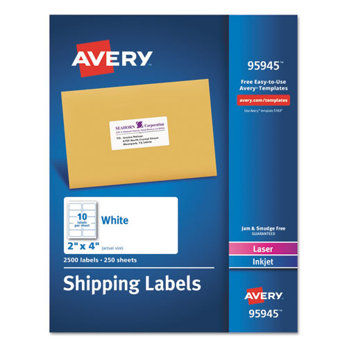 Bettymills avery white shipping labels avery ave95945 for Pres a ply templates