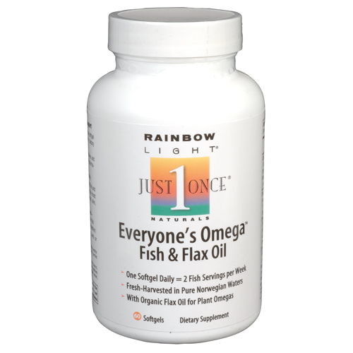 Bettymills everyones omega fish flax oil rainbow for Flaxseed or fish oil