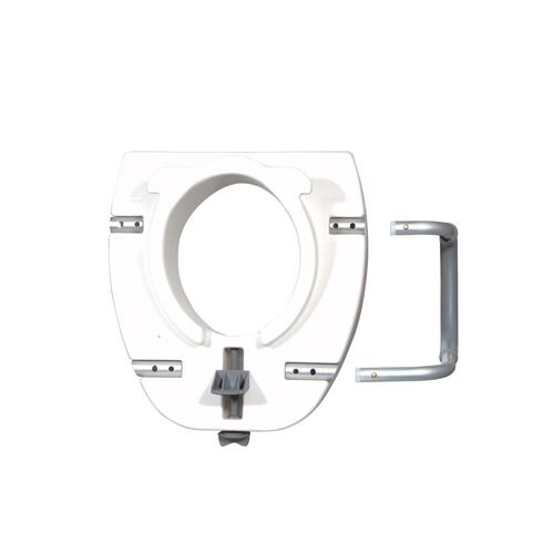Bettymills Premium Plastic Raised Toilet Seat With Lock