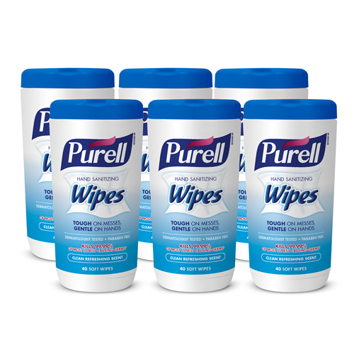 PURELL HAND SANITIZING WIPES CLEAN REFRESHING SCENT