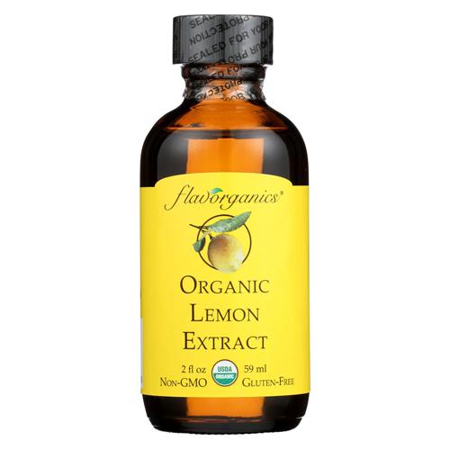 Organic Lemon Extract - 2 oz