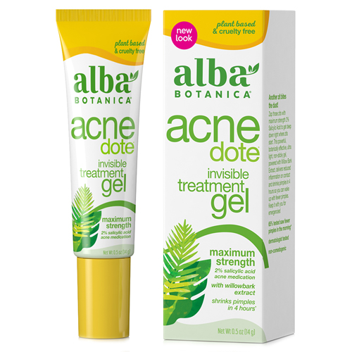Alba Botanica Natural Acnedote Invisible Treatment Gel Ingredients
