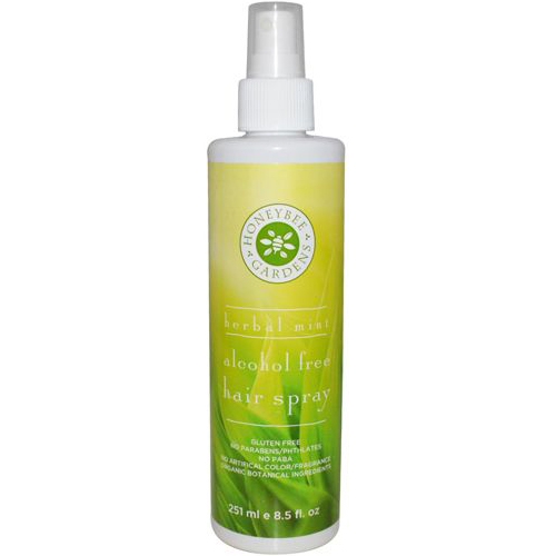 Non alcohol hairspray