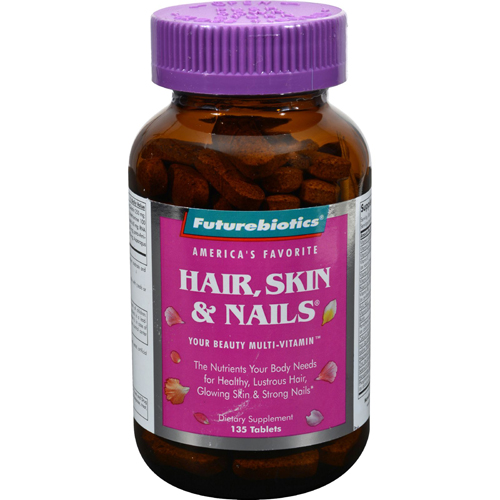 Skin hair nails tablets