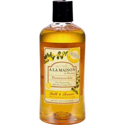 Bettymills shower gel honeysuckle 16 9 oz a la for A la maison white tea liquid soap
