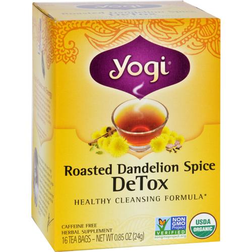 bettymills organic roasted dandelion spice detox 16 tea bags 1 case yogi teas 1541085. Black Bedroom Furniture Sets. Home Design Ideas