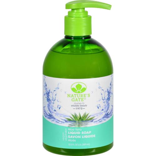 Nature S Gate Liquid Soap Aloe Vera