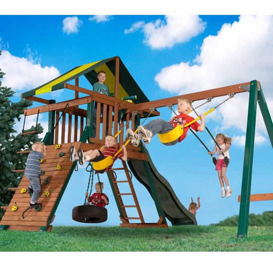 BettyMills: Wooden Playset