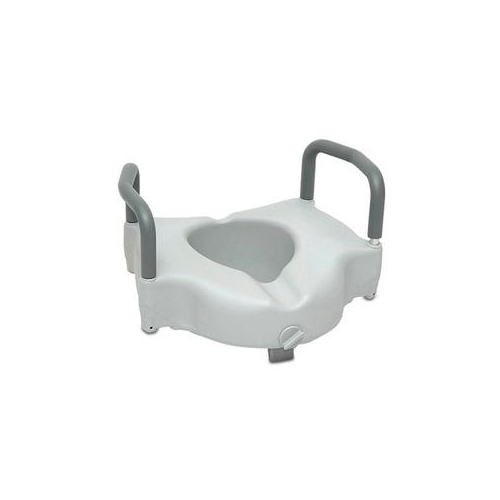 Bettymills Probasics Raised Toilet Seat With Lock And
