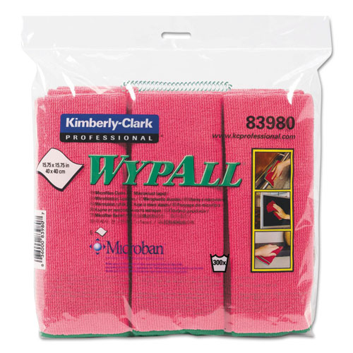Kimberly 15.75 X 15.75 In Microfiber Cloths,Reusable see notes 24//carton