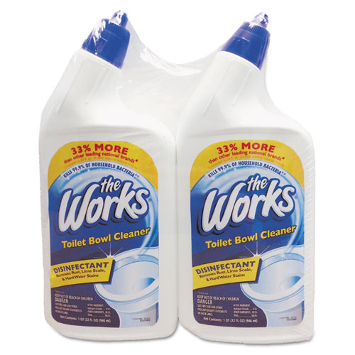 Bettymills The Works 174 Disinfectant Toilet Bowl Cleaner