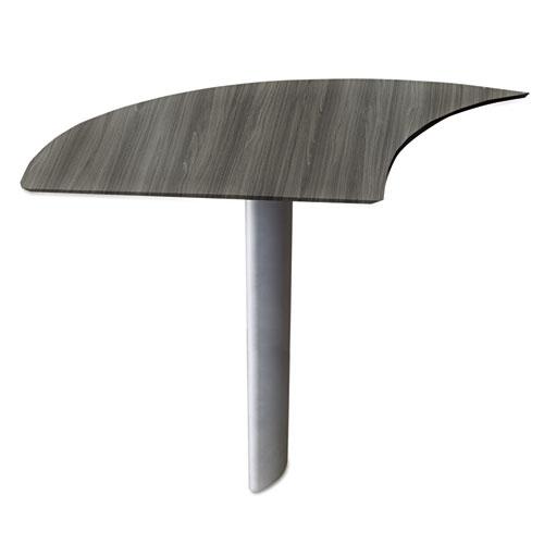 Bettymills Mayline 174 Medina Series Laminate Curved Desk