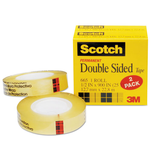 bettymills scotch 665 double sided office tape 3m. Black Bedroom Furniture Sets. Home Design Ideas