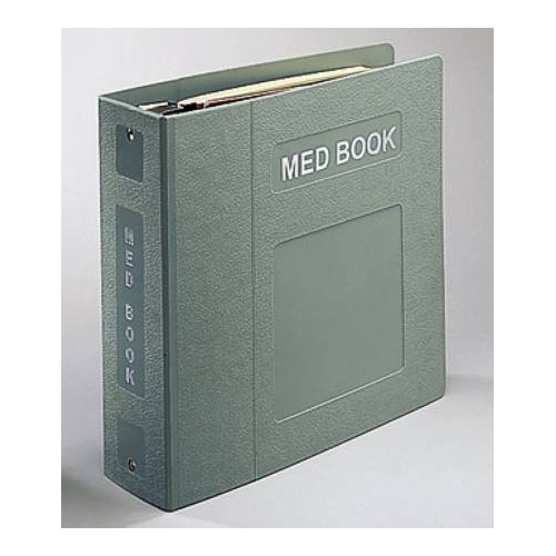 BettyMills: Medication Administration Record Binder 3