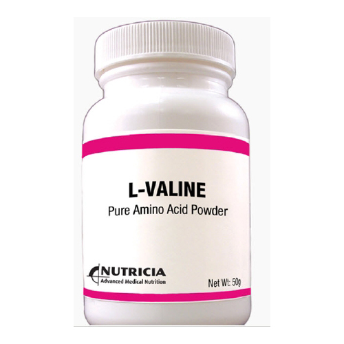 Amino Acid Oral Supplement L-VALINE Unflavored 50 Gram Bottle Powder