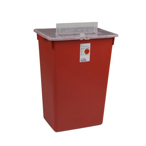 Container Volume Control : Bettymills sharps a gator™ container split lid