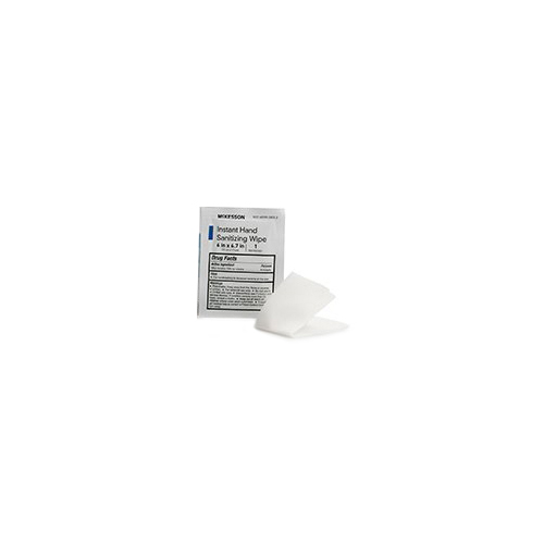 Alcohol Sanitizing Skin Wipes, Individual Packet, Unscented