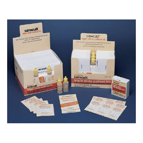 Rapid Diagnostic Test Kit Seracult® Colorectal Cancer Screen Fecal Occult  Blood Test (FOB) Stool Sample CLIA Waived 34 Tests