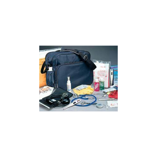 d3b4489ec5cc Medical Tote Original Home Health Shoulder Bag Navy Nylon 7 X 11 X 14 Inch,