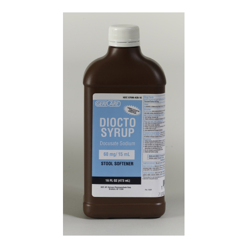 Bettymills Stool Softener Liquid 16 Oz 60 Mg 15 Ml