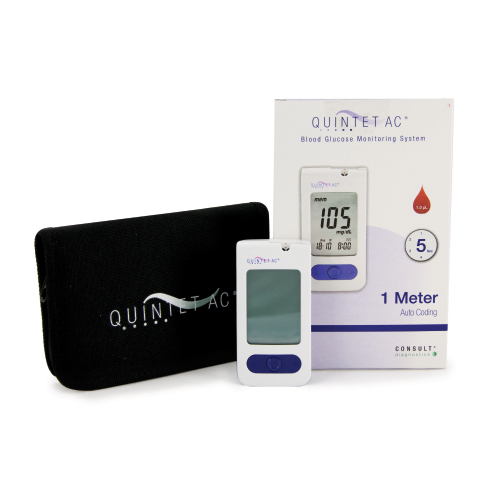 Bettymills Blood Glucose Monitoring System Quintet Ac 5
