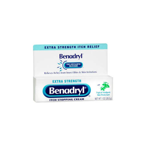 Anti-Itch Cream Benadryl® 1 oz  Cream