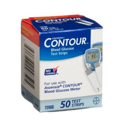 Bayer contour test strips coupons